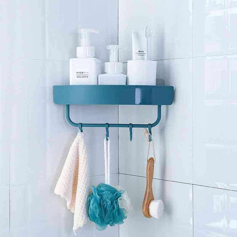 Portable Storage Rack For Bathroom With Draining Design And Space Saving, Separable Boxes