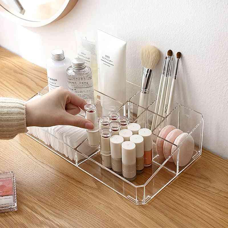 Large Makeup Organizer Cosmetic Storage Box For Desk, Bathroom