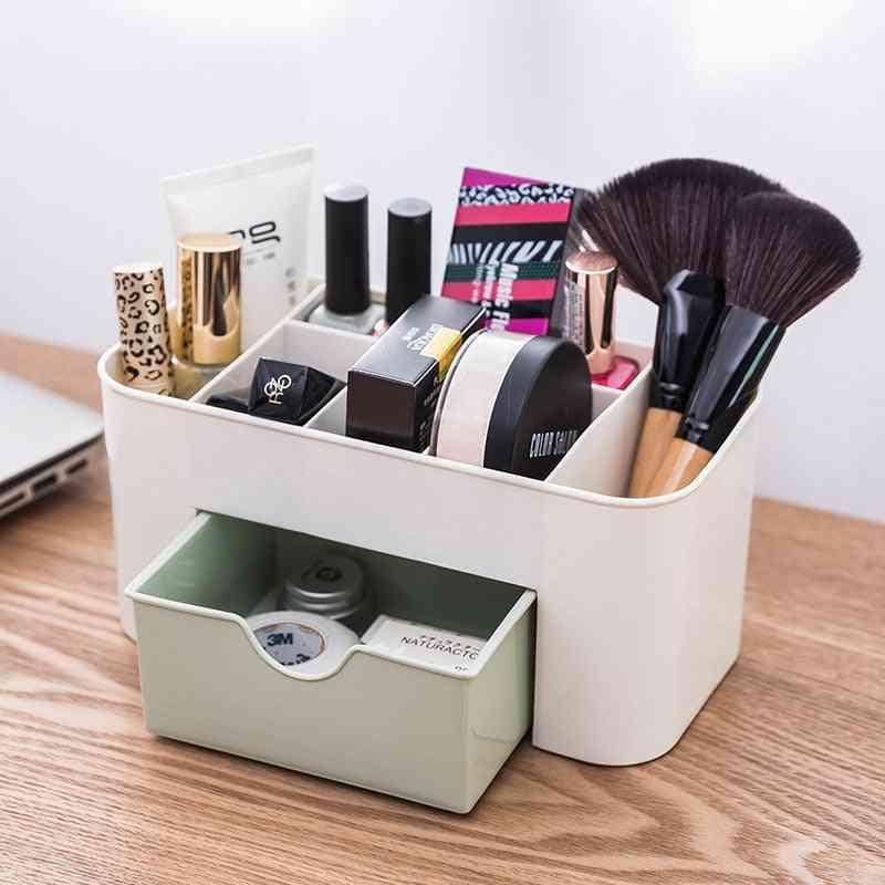 Plastic Makeup Organizers Storage Box