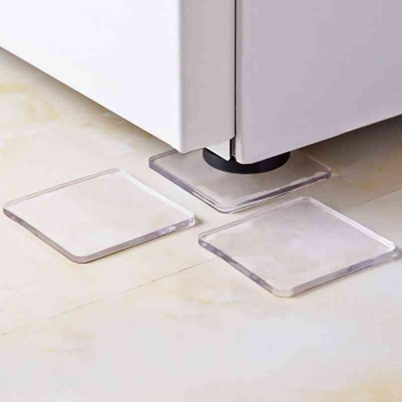 Anti Vibration Silicone Non Slip Pad Mats For Washing Machine, Refrigerator