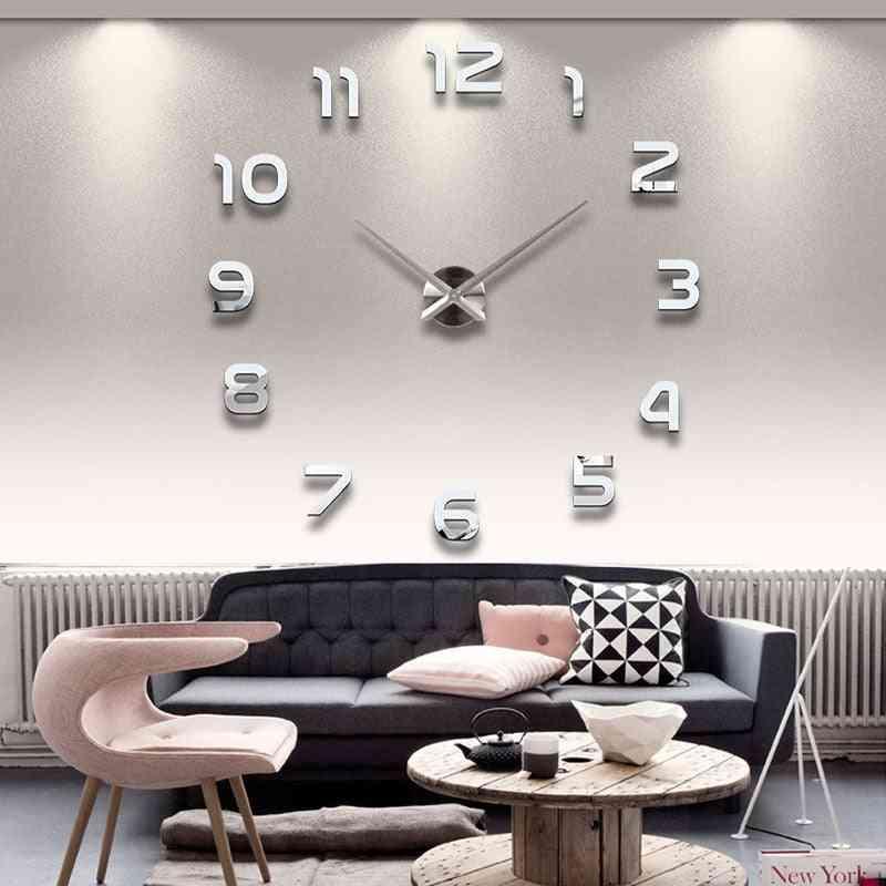 3d Diy Acrylic Wall Mirror Stickers-home Decor