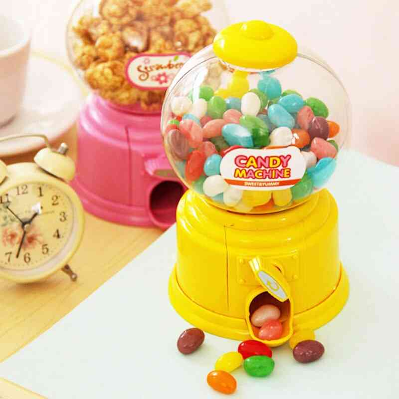 Sweets Candy Machine - Coin Bank Bubble Gumball Dispenser