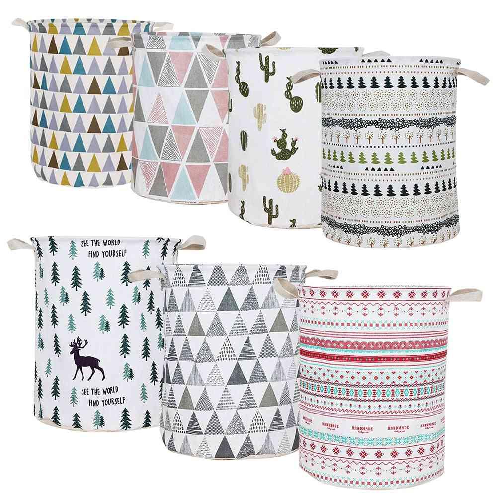 Waterproof, Large Capacity And Foldable Laundry Basket