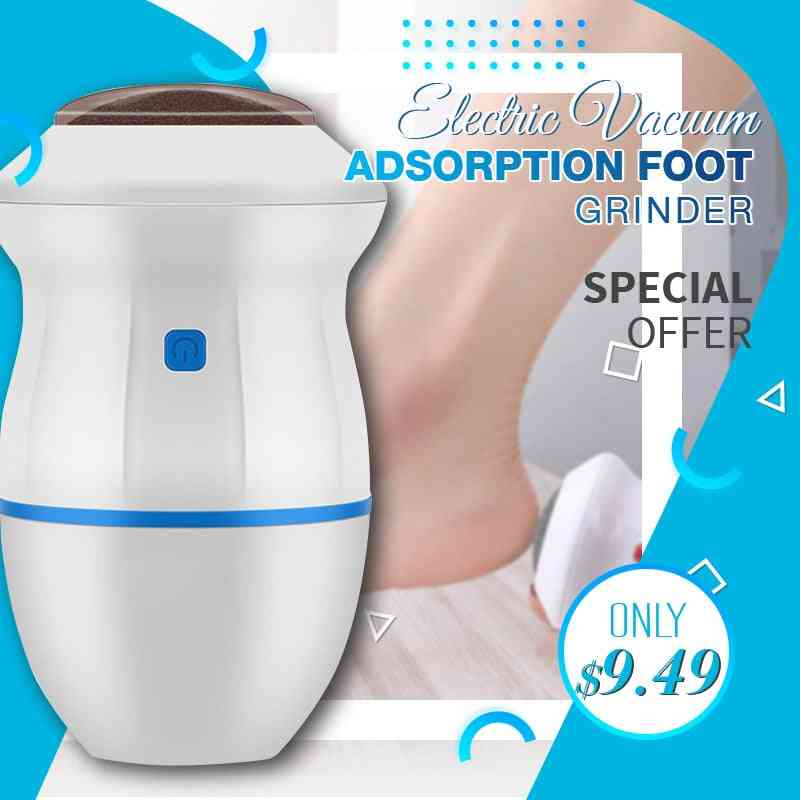 Usb Rechargeable Adsorption Foot Grinder Electric Vacuum Adsorpt Foot Grinder Electric Foot File Vacuum