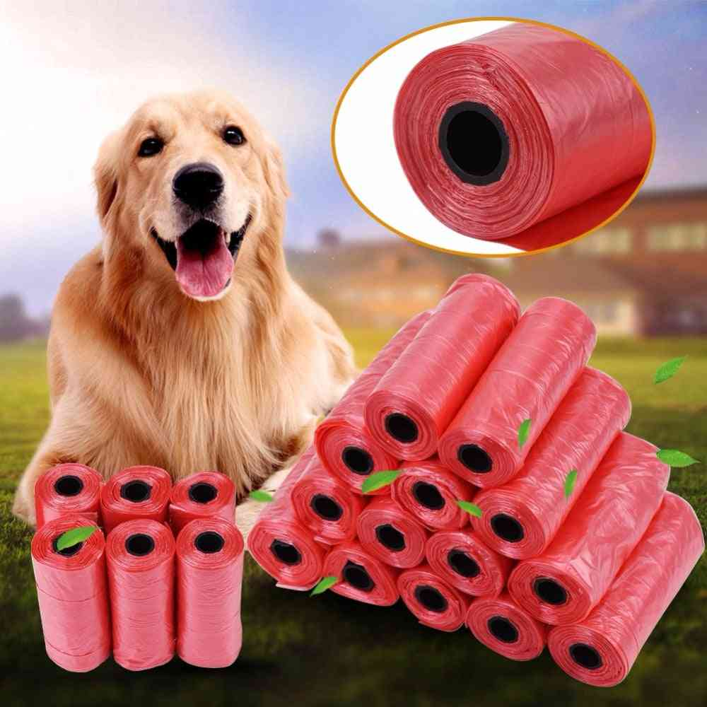 Dog Poop Bag Trash Garbage Bags For Cat Pets Doggie Waste Collection Bag Outdoor Cleaning Dog Supplies