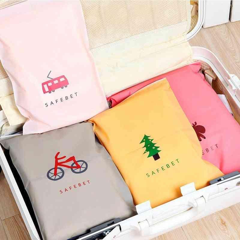 Waterproof Vacuum Bags For Clothes Wardrobe,, Underwear, Shoes Storage Bags