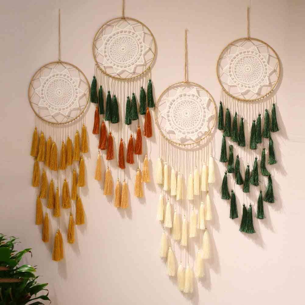 Nordic Tassel Dream Catcher Room Decoration