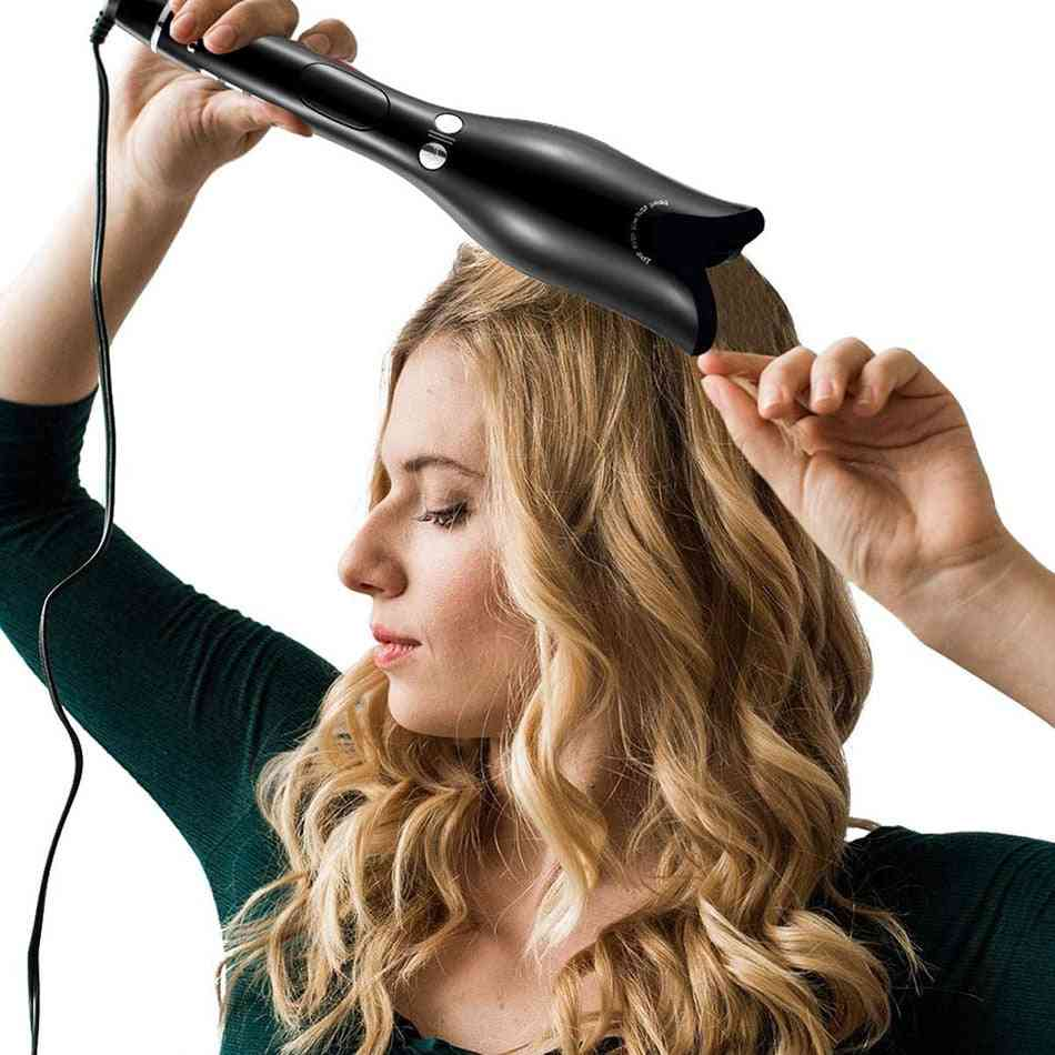 Rose Shaped Multi Function Lcd Curling Iron - Professional Hair Curler Styling Tools