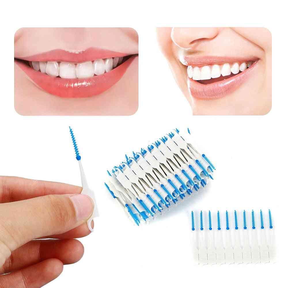 Dual Head Dental Floss - Soft Interdental Toothpick