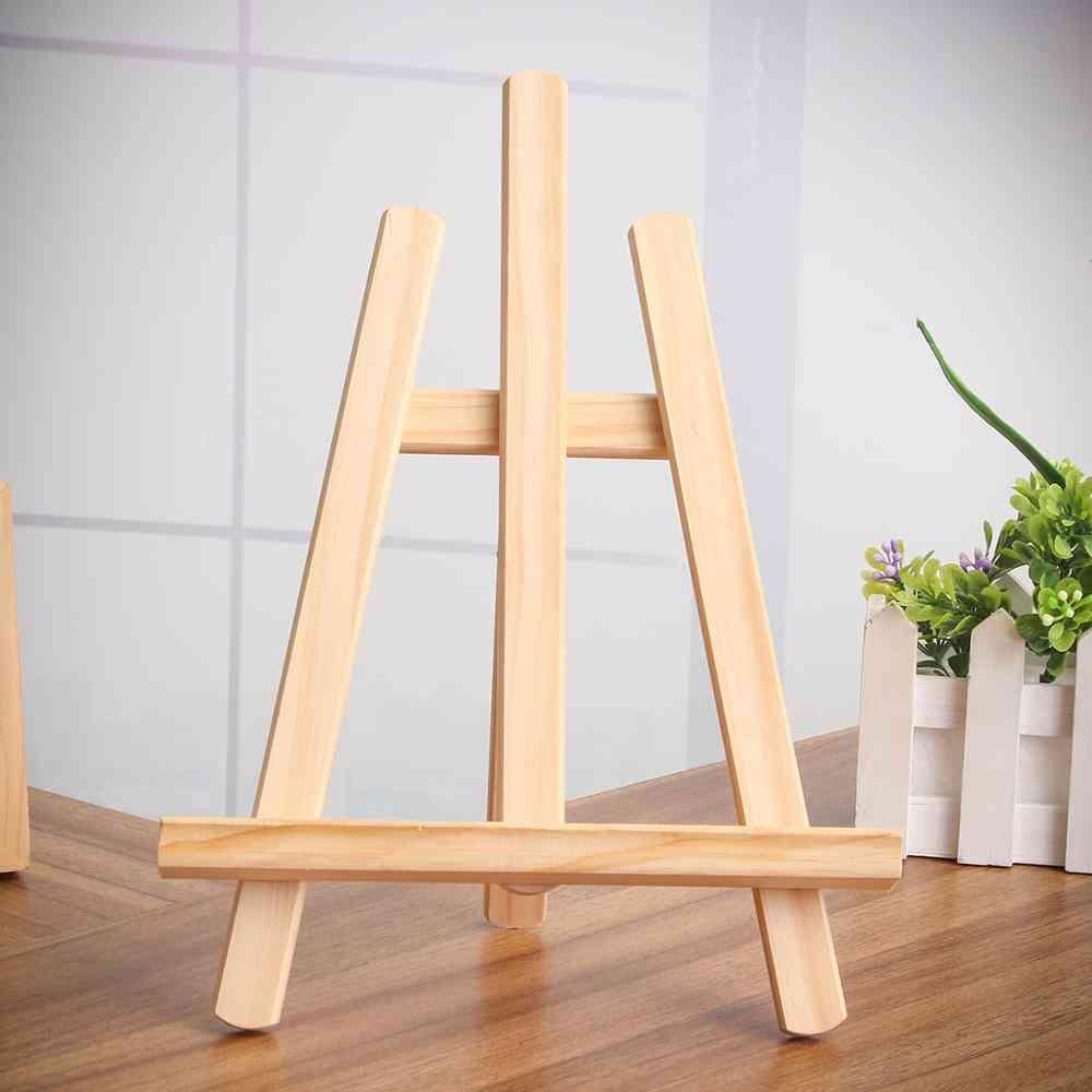 Wood Easel 21x28cm - Art Easel Craft Wooden Adjustable Table Card Stand Display Holder