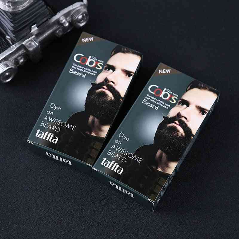 Natural Beard Tint Cream With 1 Pair Of Disposable Gloves