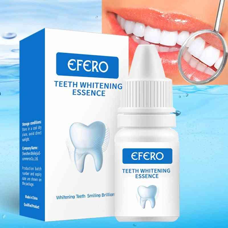 Teeth Whitening Serum Gel - Dental Oral Hygiene Effective Remove Stains Plaque Teeth Cleaning Essence