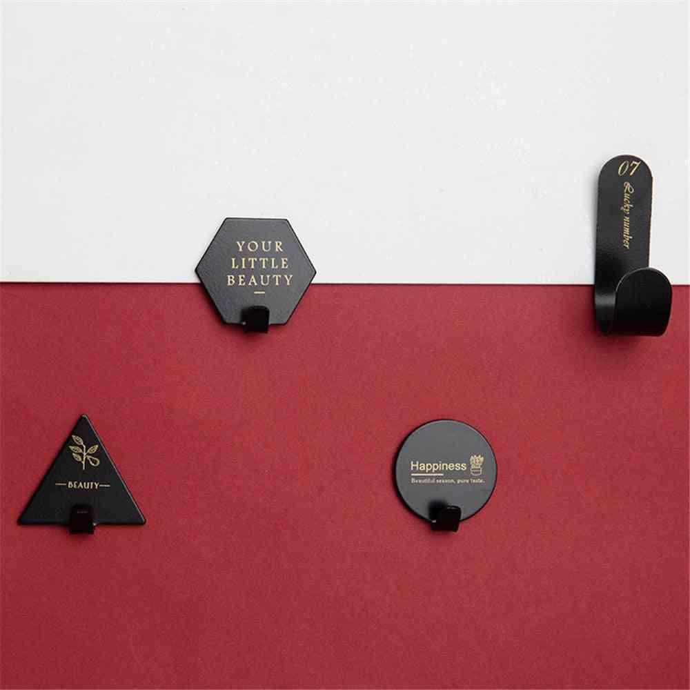 Stainless Steel Hook Hanger For Household Kitchen Wall Door