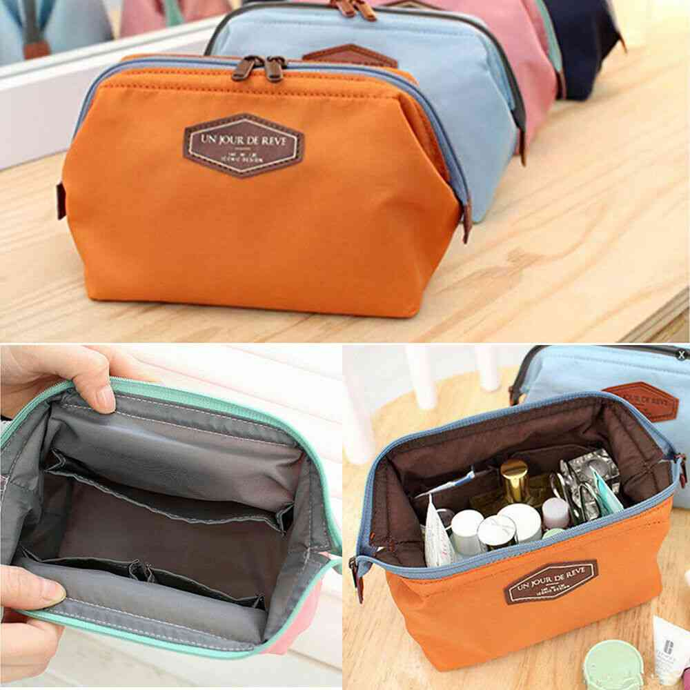 Small Cosmetic Makeup Bag-toiletry Organizer Storage Bags