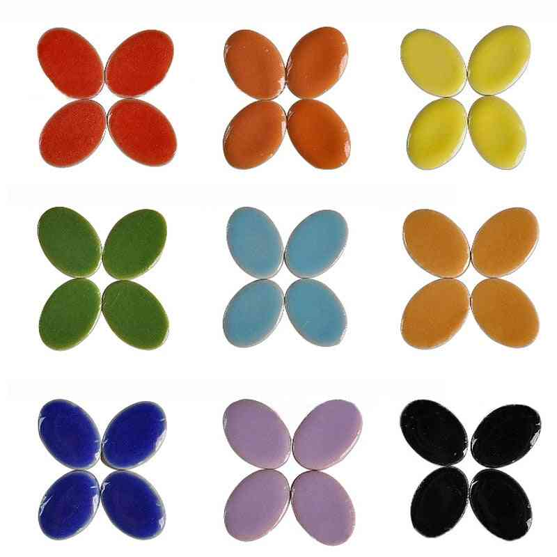 Oval Shape Ultrathin Micro Ceramic Diy Decor For Jewelry Earring - Craft Making Materials