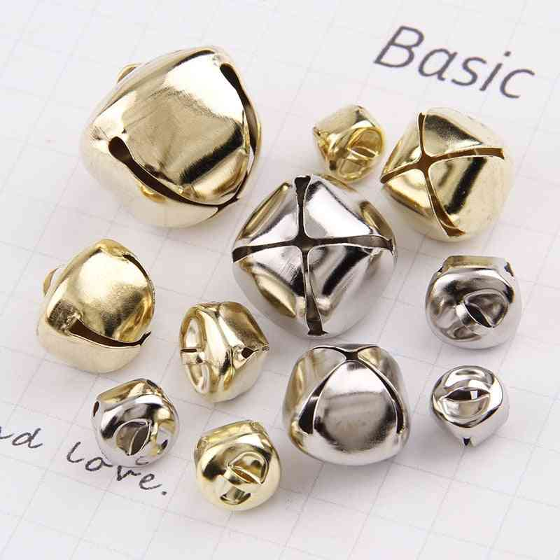 Gold/white K Iron Water Plated Christmas Cross ,bells ,pendant - Handmade Party Diy Crafts Accessories