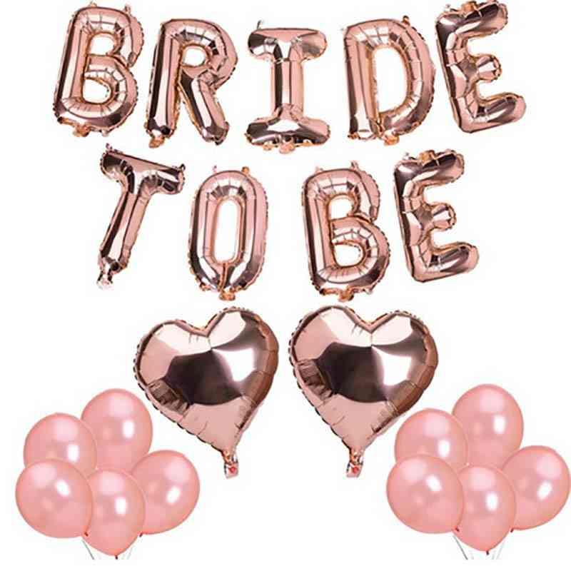 Various Shapes Aluminium Foil - Balloon For Wedding & Engagement Decorations