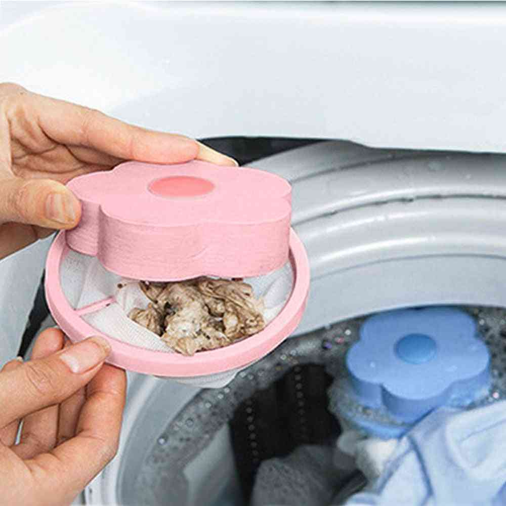 Household Floating Washing Machine Hair Remover