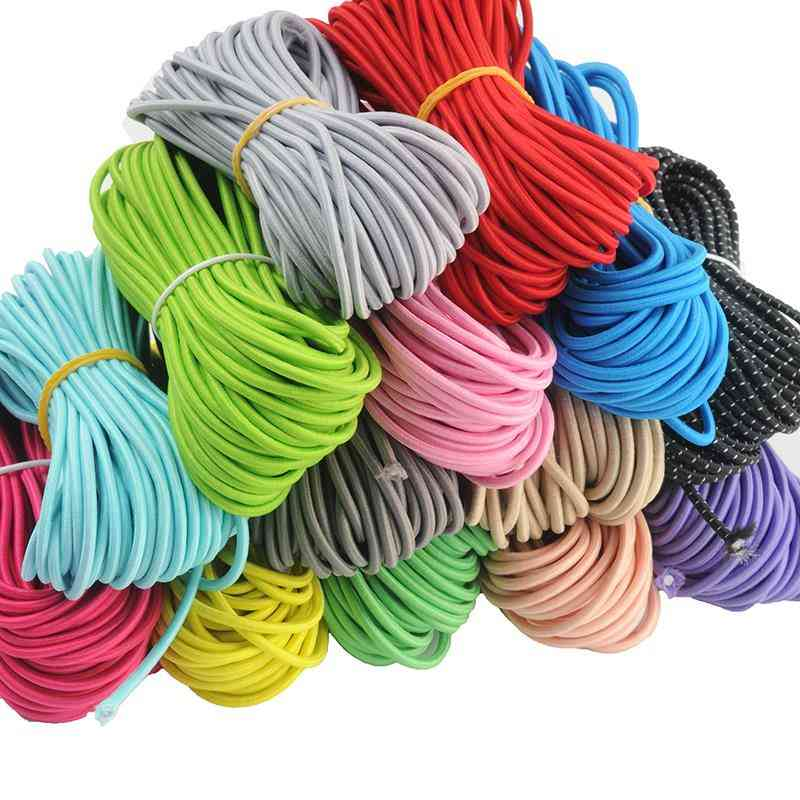 Colorful High Elastic Rubber Band Line For Sewing