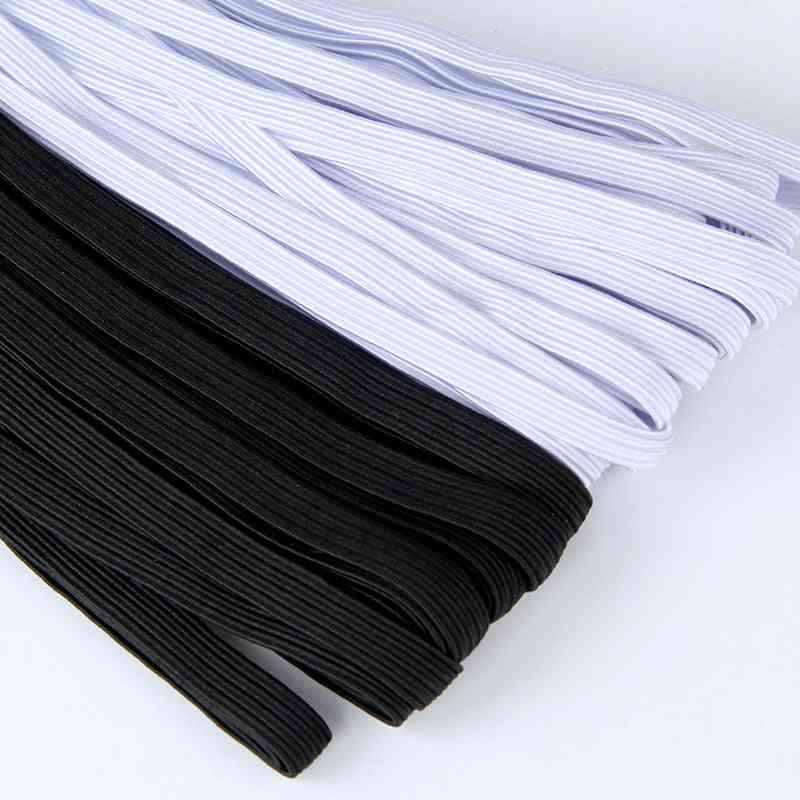 Thin Sewing Elastic Band - Wide, Flat Rubber Band, Waistband, Belt For Garments