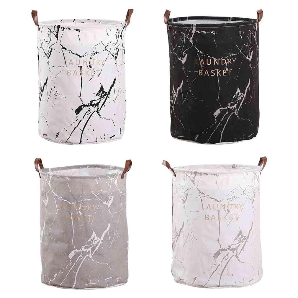 1pc Dirty Clothes ,sundries Storage Bucket - Cloth Art Folding Geometry Laundry Basket Organizer