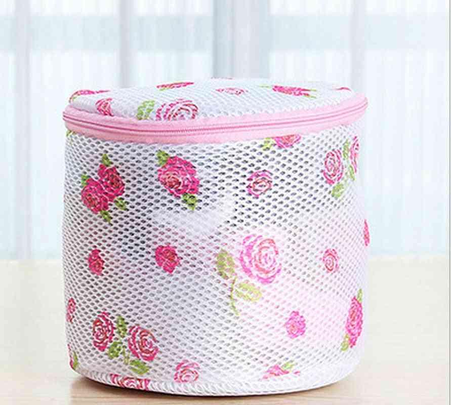 1pcs 150x150mm Clothes Washing Machine Laundry Bags Bra Aid Hosiery Shirt Sock Lingerie Saver Mesh Net Wash Bag Pouch Basket|laundry Bags