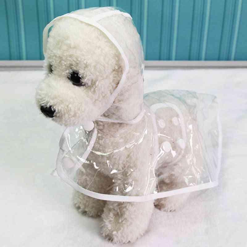 Waterproof Transparent Raincoats, Dog Raincoat Spring Summer Rain Coats, Dog Light Clothes Pet Accessories Puppy Rain