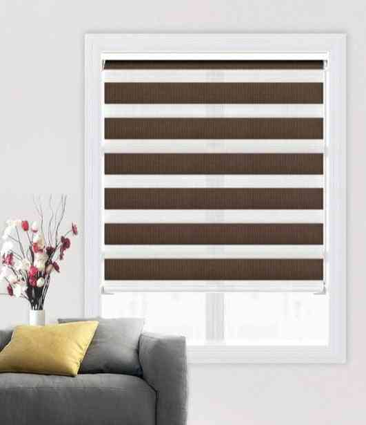 Double Layer, Lightweight, Uv Protection- Shading Window Roller Blinds