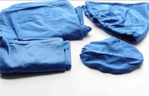 4pcs-washable, Elastic Cotton-dental Chair Protector