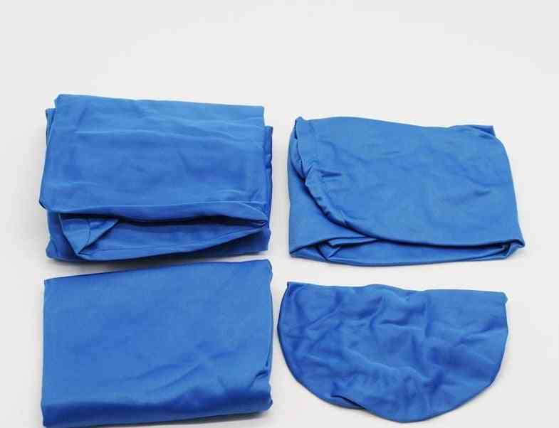 4 Pcs/set Dental Chair Cover Protector - Washable Elastic Cotton Seat