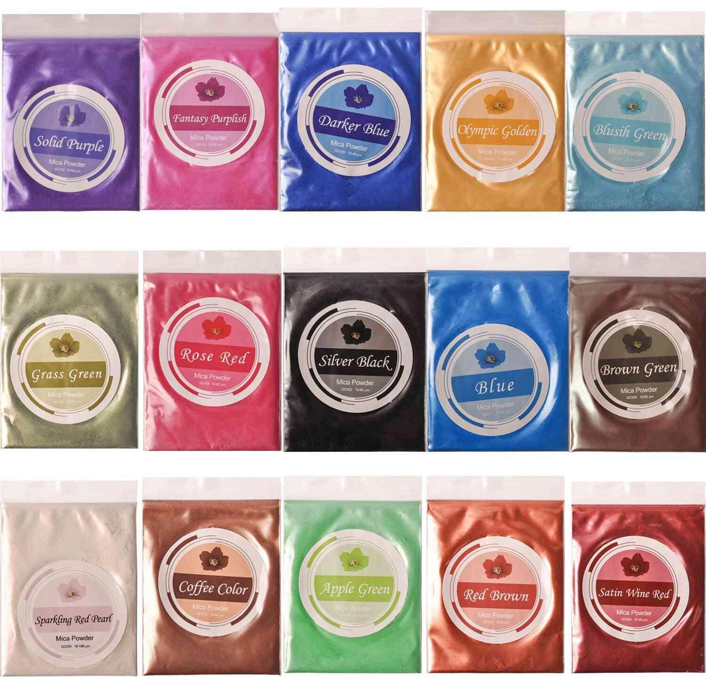 Epoxy Resin Dye , Mica Powder- Hand Soap Making Supplies