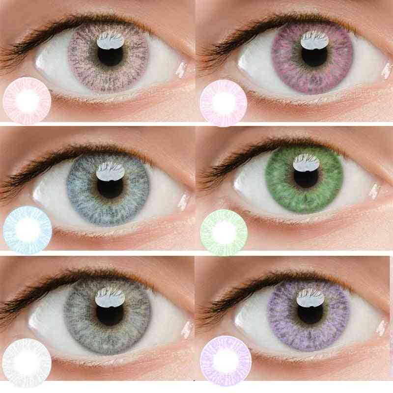 Colored Contact Lenses - Soft Beautiful Pupil