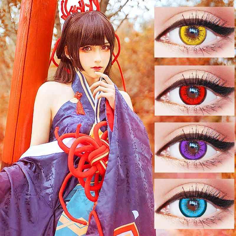 Beautiful Pupil Multicoloured Contact Lenses