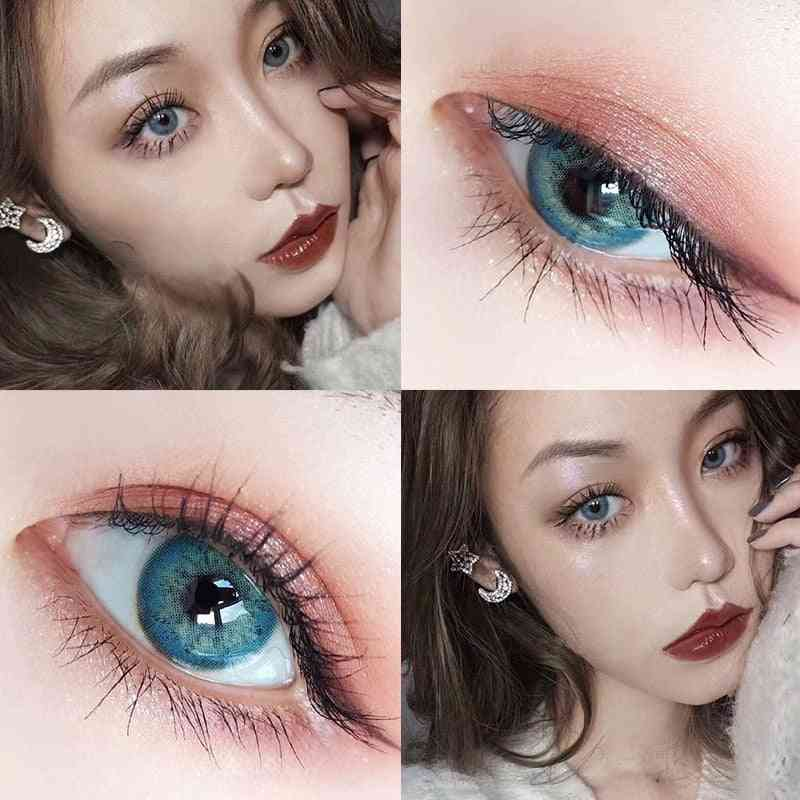 1pair Colored Cosmetic Contacts Natural Lens