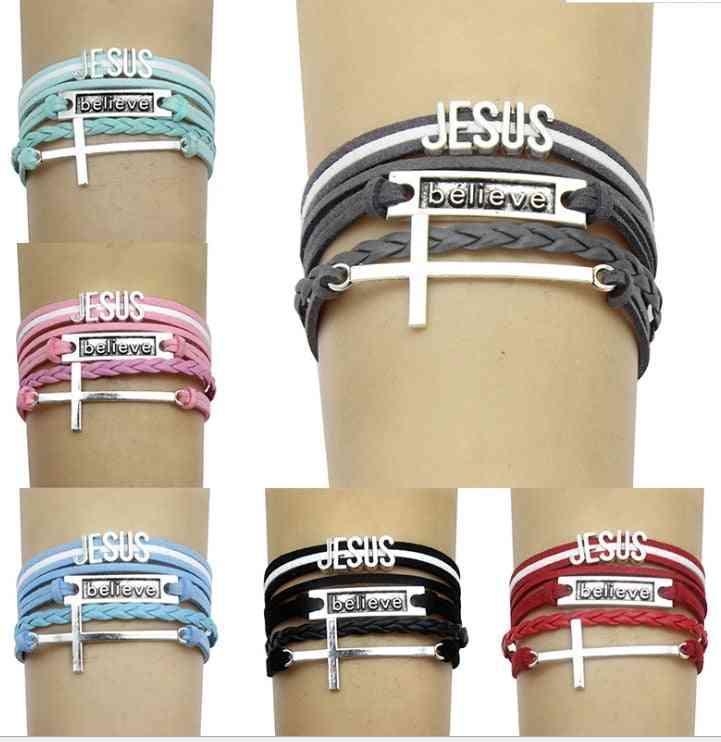 Jesus Christian Religious Jewelry Bracelets