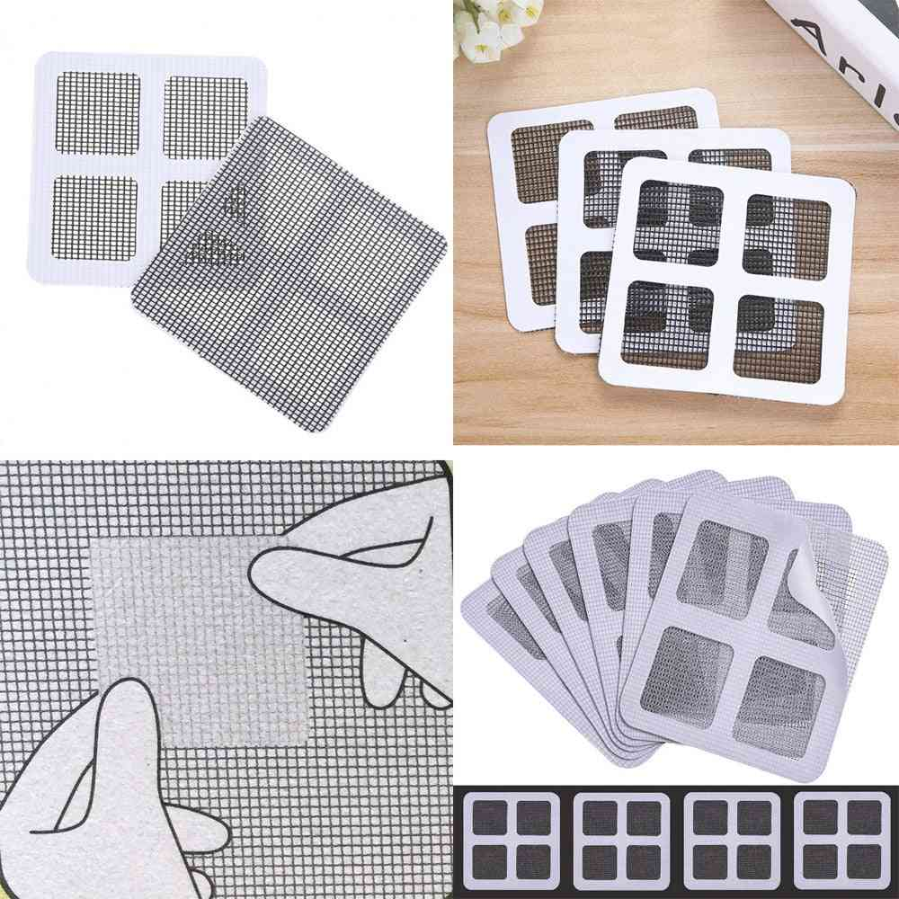 Anti Insect Adhesive Window Repair Screen/wall Patch Stickers 5 Pack - Mesh Window Fix Net Screen