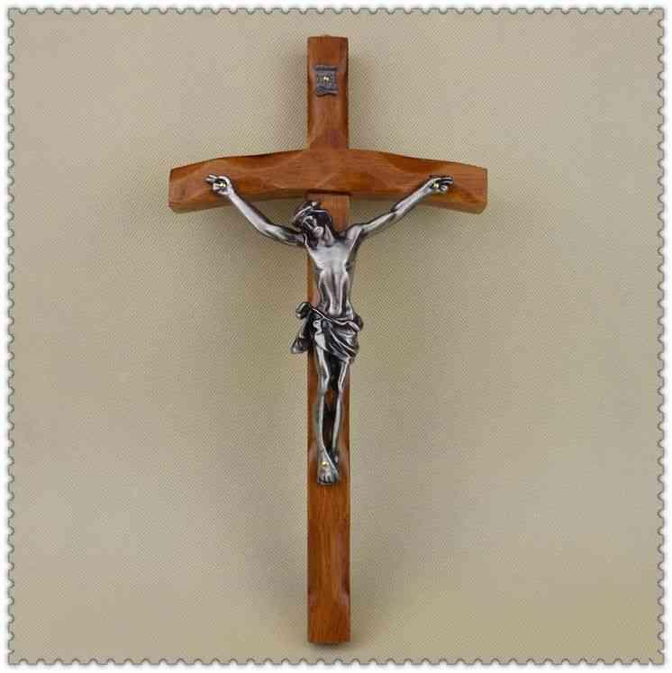 Catholic Christian Cross-crucifix Figure Wall Mount