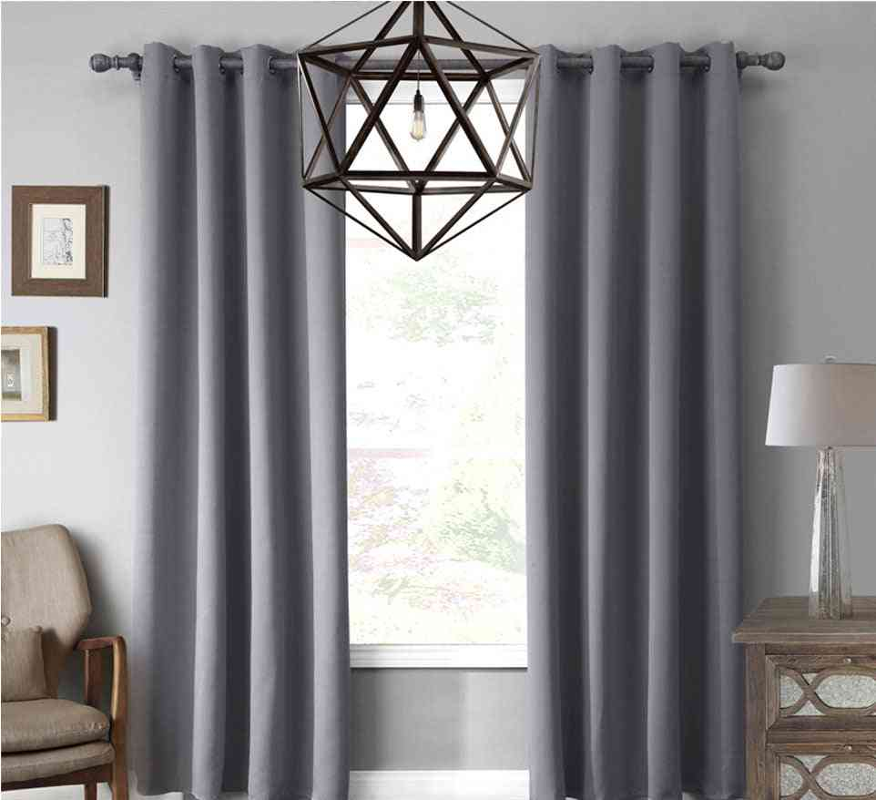 Modern Finished Drapes Curtains For Living Room, / Bedroom