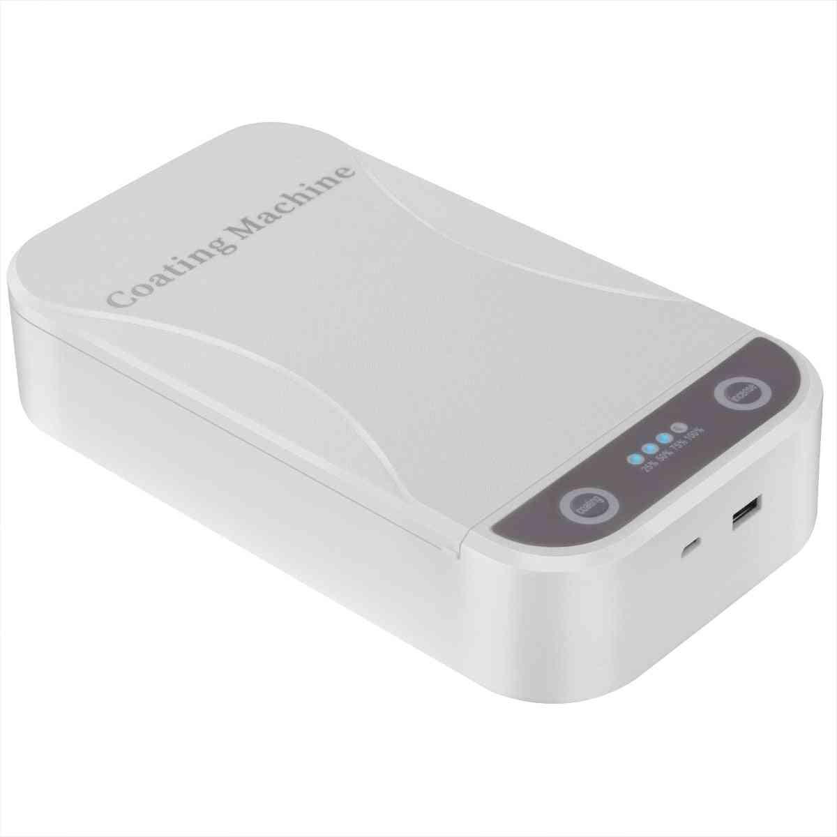 5v Portable Uv Sterilizer, Toothbrush Mask Uv Disinfection Box- Usb Charging Dual Uv Germicidal Lights For Makeup Brushes