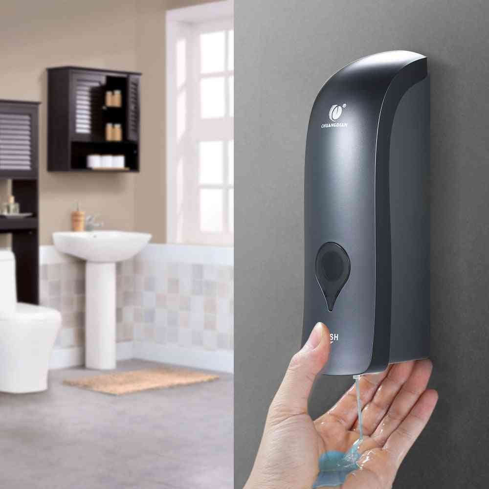 Pump Wall Mounted - Sanitizer, Hand Touch Liquid Soap Dispenser
