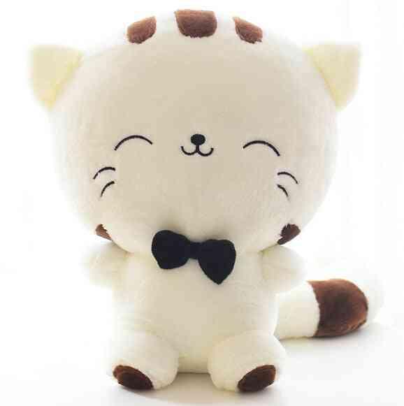 20cm Cute Kawaii Cat With Bow Plush Dolls Stuffed - Soft Doll Cushion, Sofa Pillow