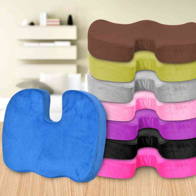 Travel Breathable Seat Cushion - Orthopedic Memory Foam For Massage Chair