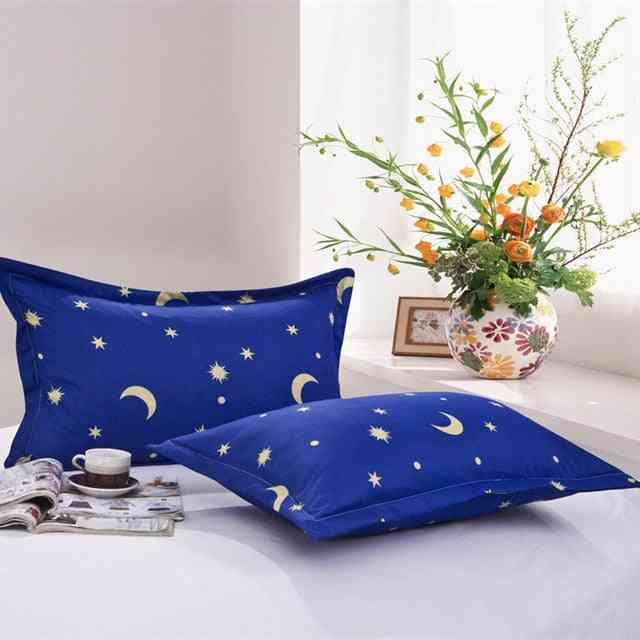 Beauty Floral Printed 100% Polyester Pillow Case Cover For Bedroom