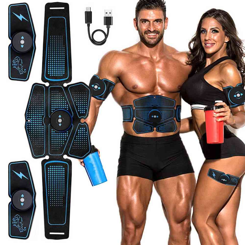Electric Abdominal Muscle Stimulator - Slimming Massage Unisex Trainer