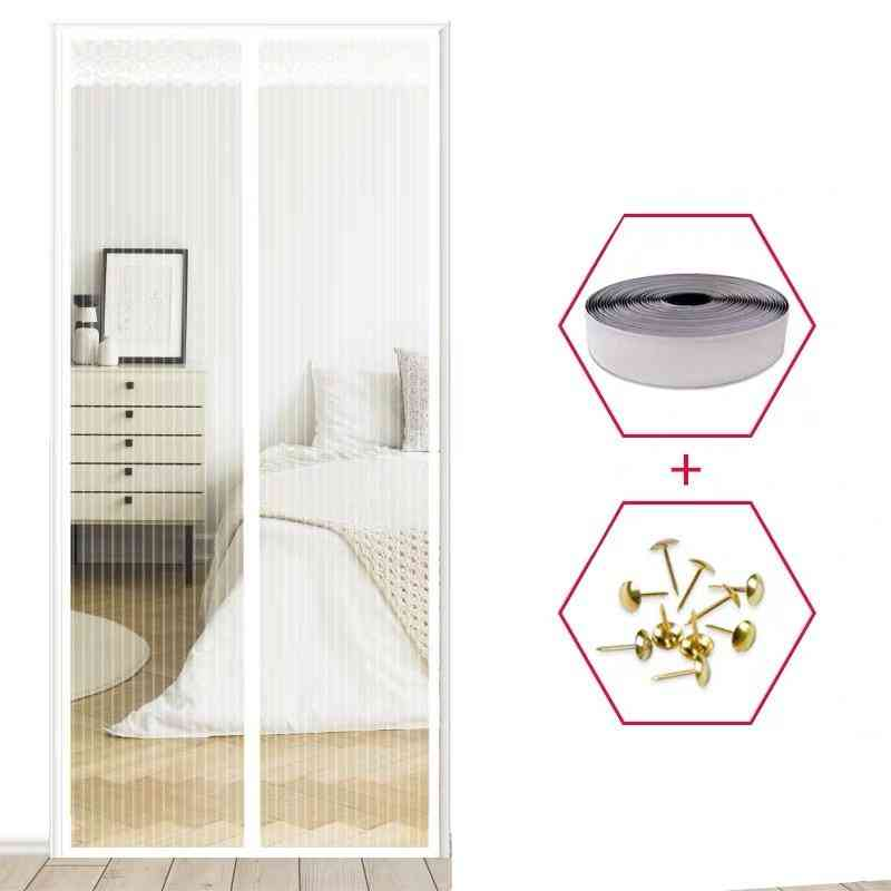 Magnetic Mesh Summer Anti Mosquito Curtains - Magic Encryption Net On The Door