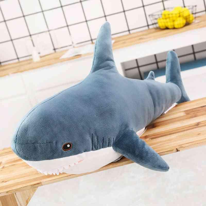 Giant Shark Design-stuffed Pillow Toy