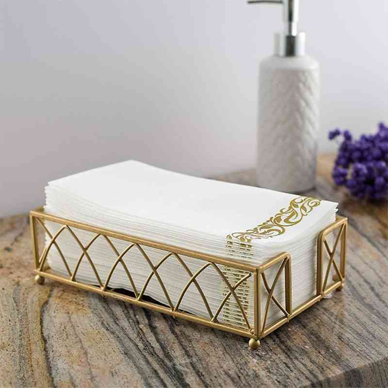 Disposable Hand Towels & Decorative Bathroom Napkins - Soft And Absorbent Linen Feel Paper For Kitchen, Parties