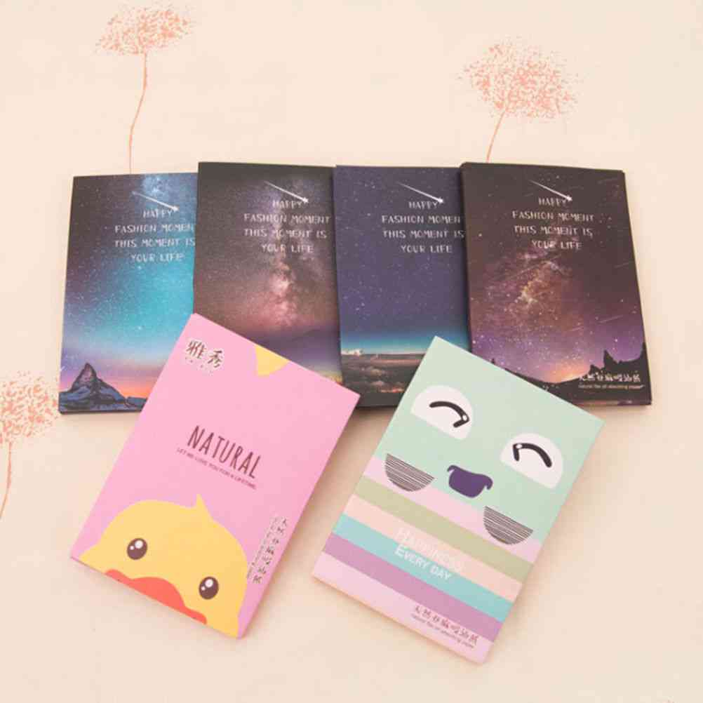 Makeup Facial Face Clean Oil Absorbing Blotting Papers - Beauty Tools