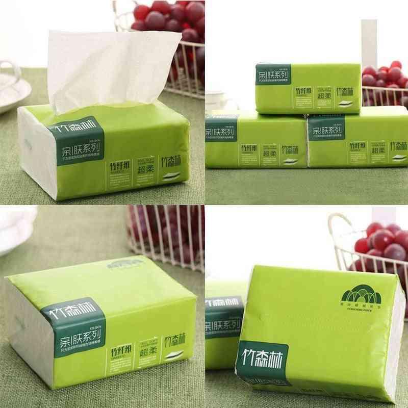 Native Bamboo Pumping Paper-4 Layers Napkin Towels