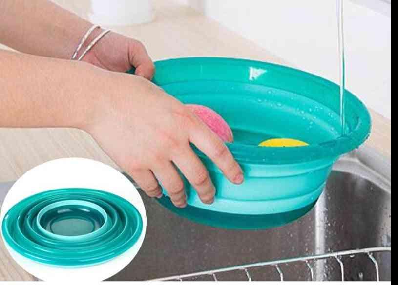 Protable Folding Vegetable & Fruit Washing Basket